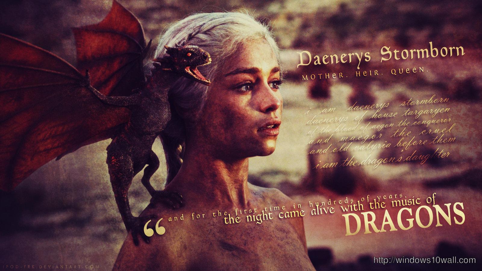 New Game Of Thrones House Targaryen Full Hd Wallpaper