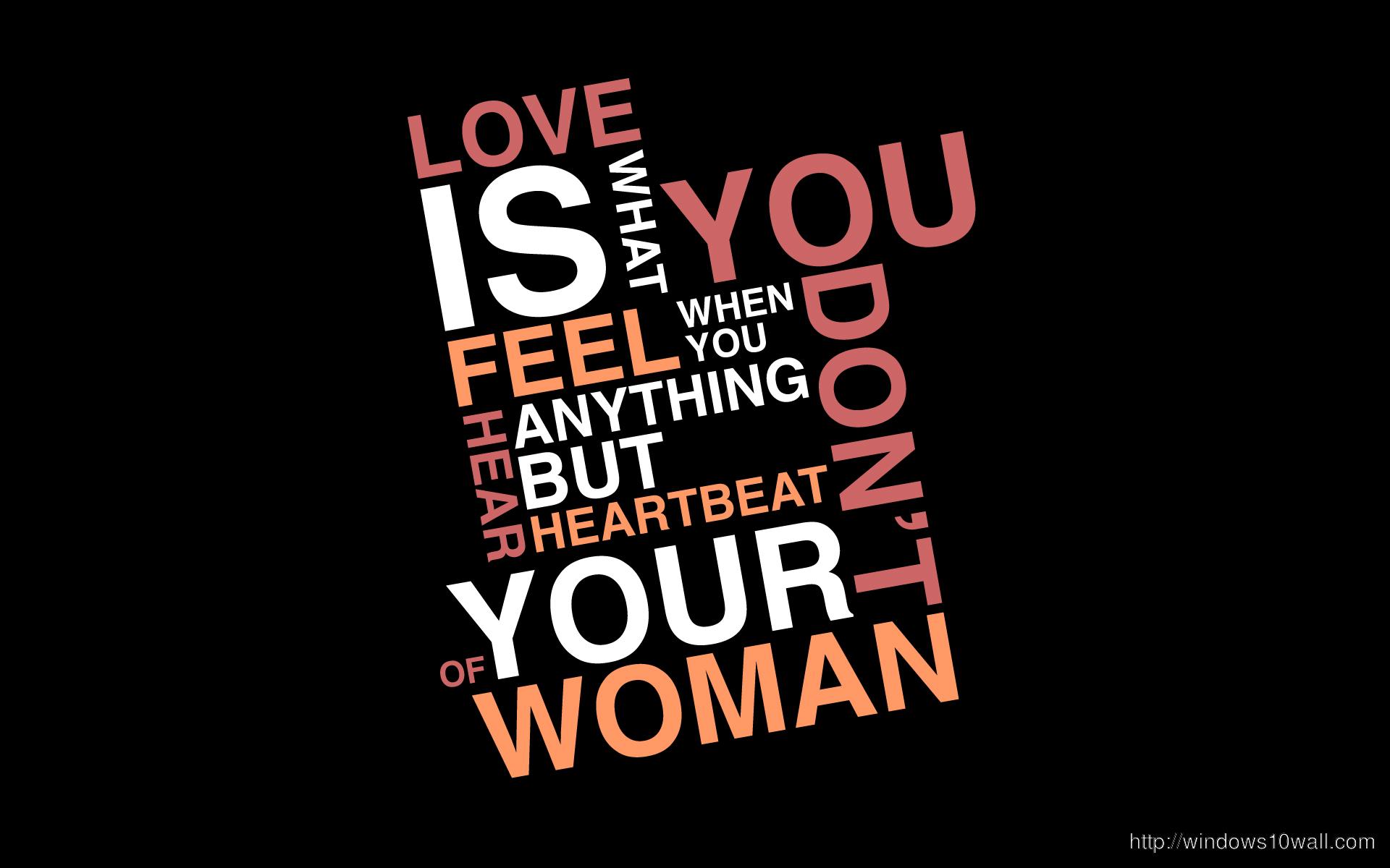 amazing Love Quotes Wallpaper