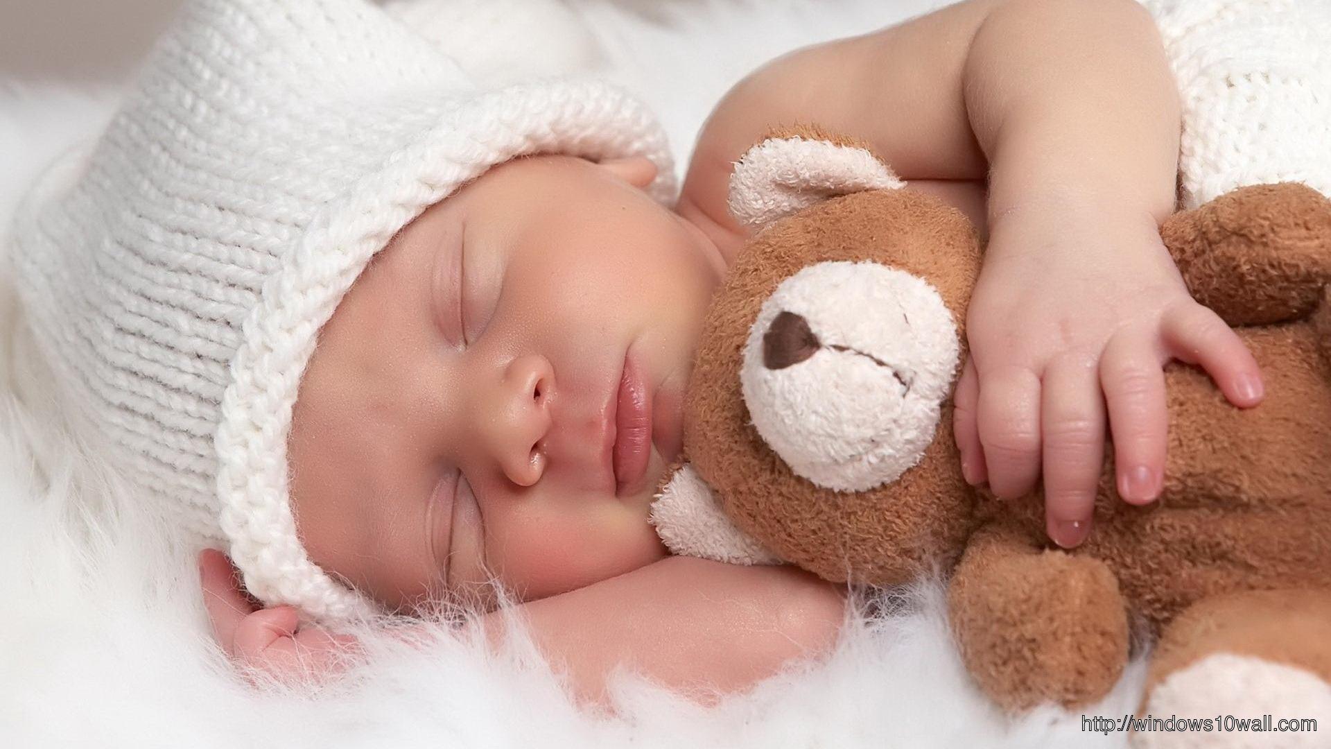 Cute Baby Sleeping HD Wallpaper