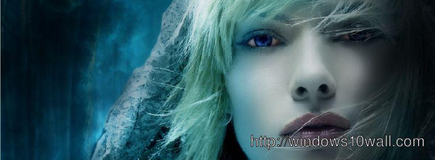 facebook cover Lovely Girl HD wallpaper