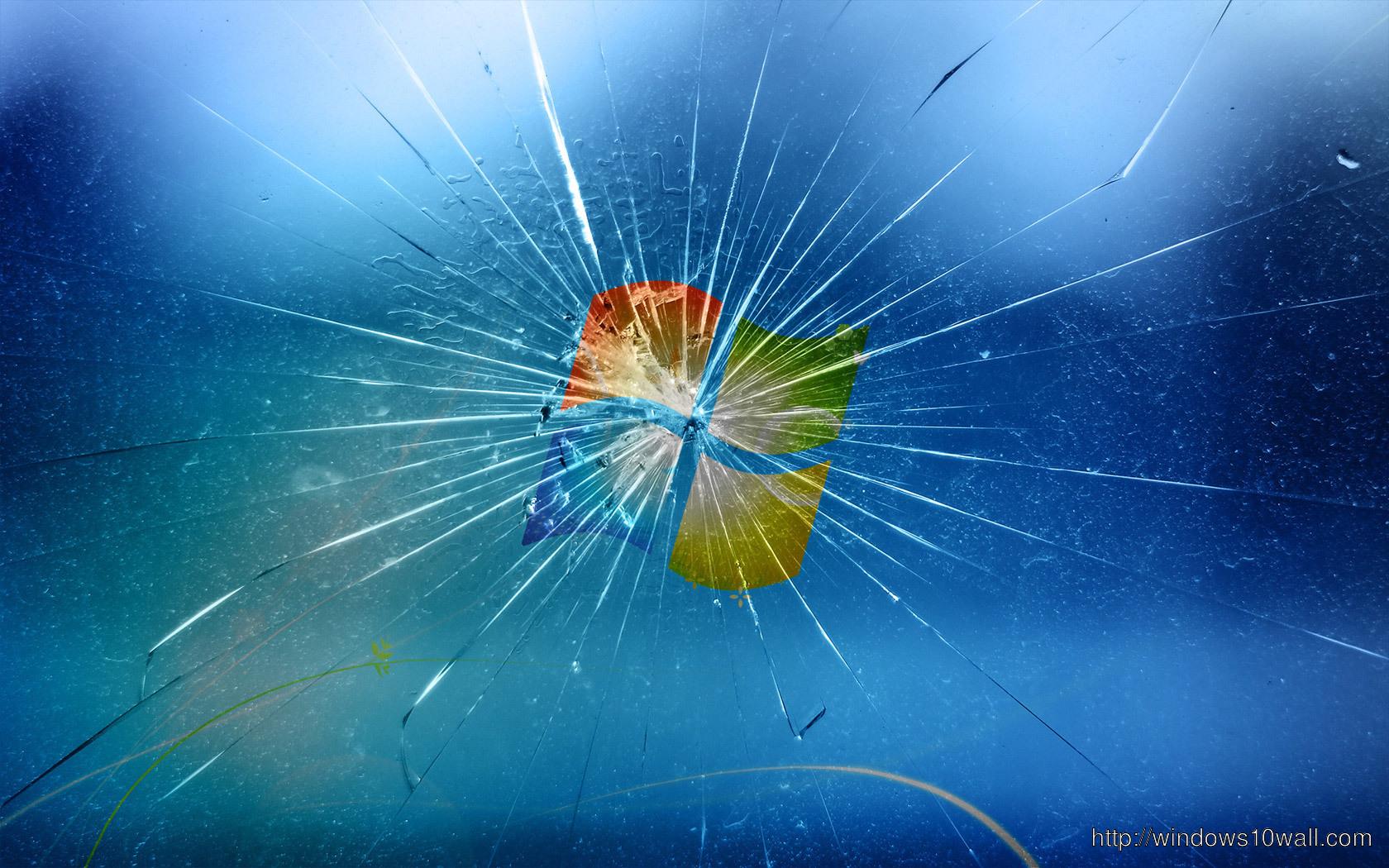 Windows 7 Broken Screen Hd wallpaper