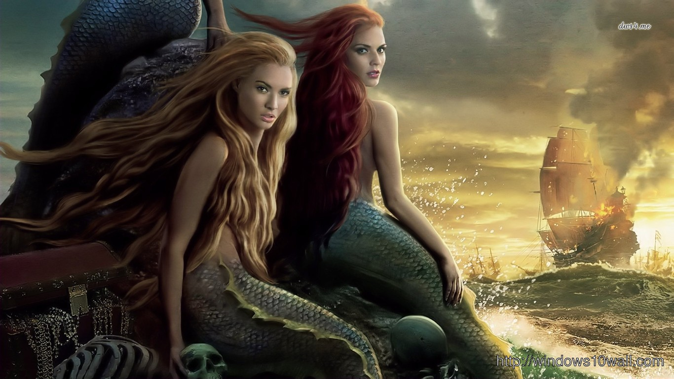 Mermaids Pirates Of The Caribbean Wallpaper Windows 10