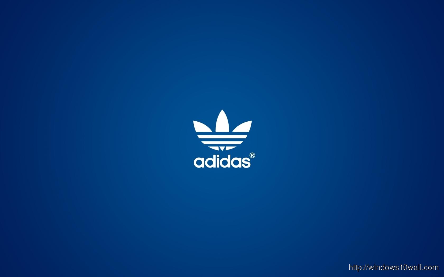 Simple Adidas Logo Wallpaper