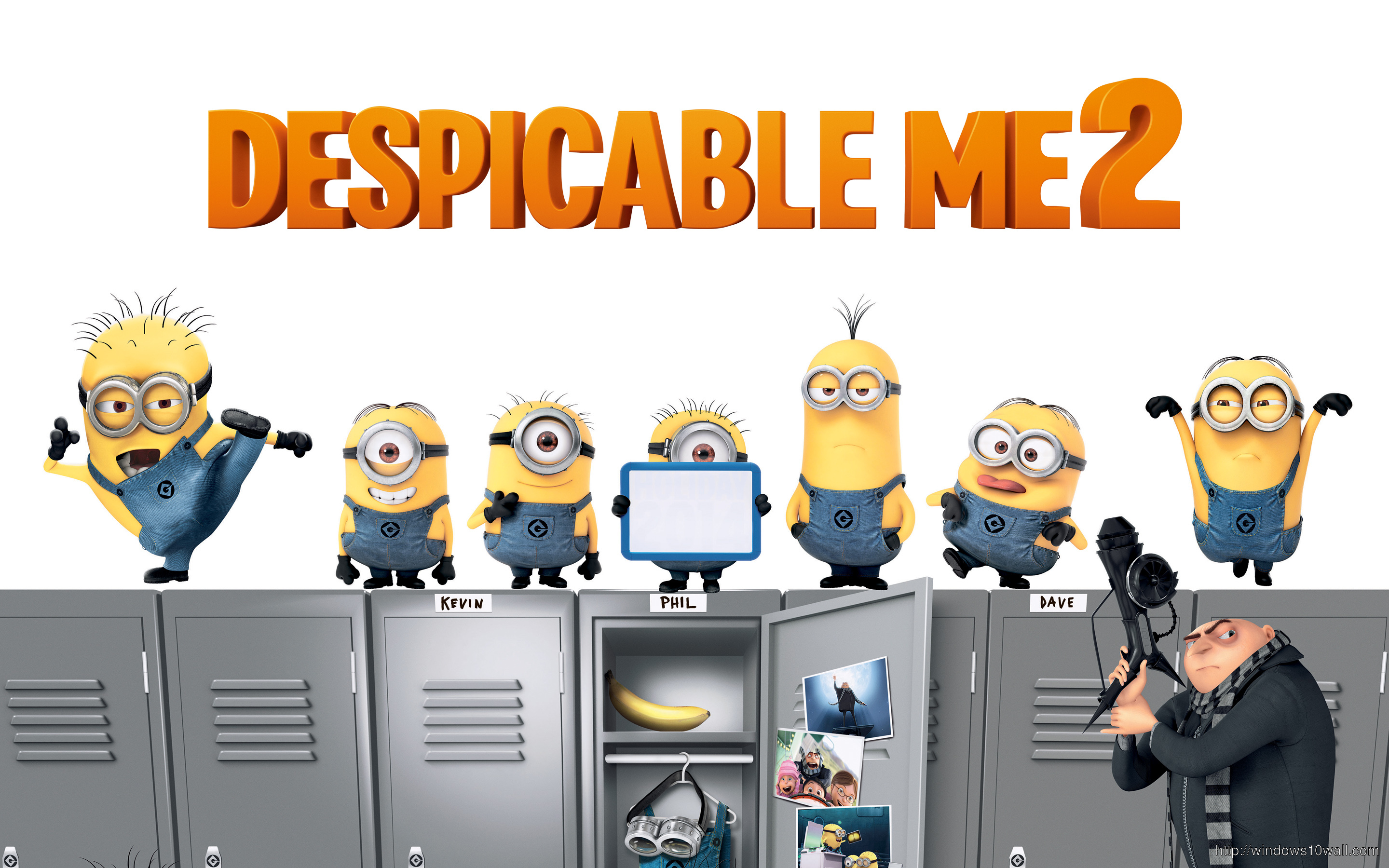 2013 Large Despicable Me Background Wallpaper