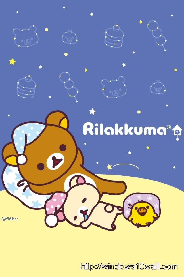 Download Rilakkuma Japan iPhone Background Wallpaper