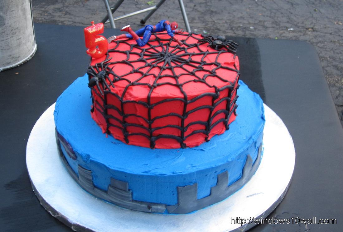 Spiderman Birthday Wallpaper Background