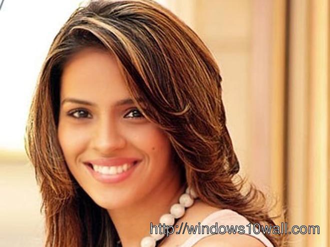 Saina Nehwal Close Up Background Wallpaper