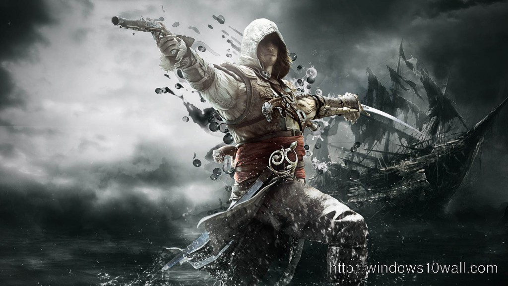 Assassins Creed 4 Background Wallpaper Windows 10 Wallpapers