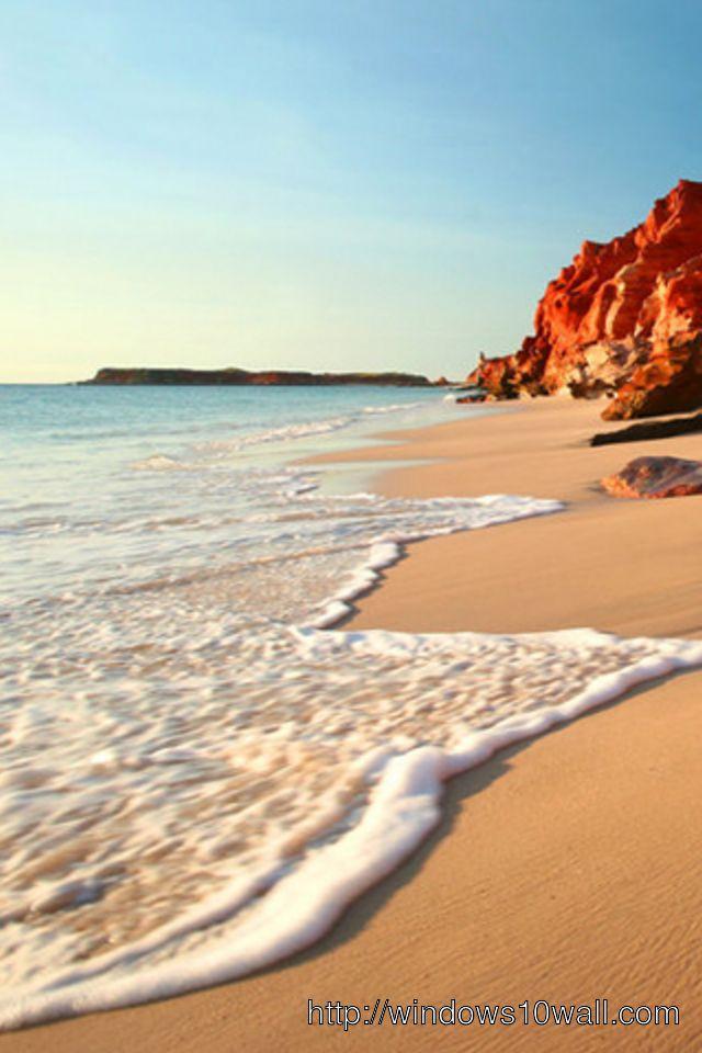Beach Shore IPhone Background Wallpaper