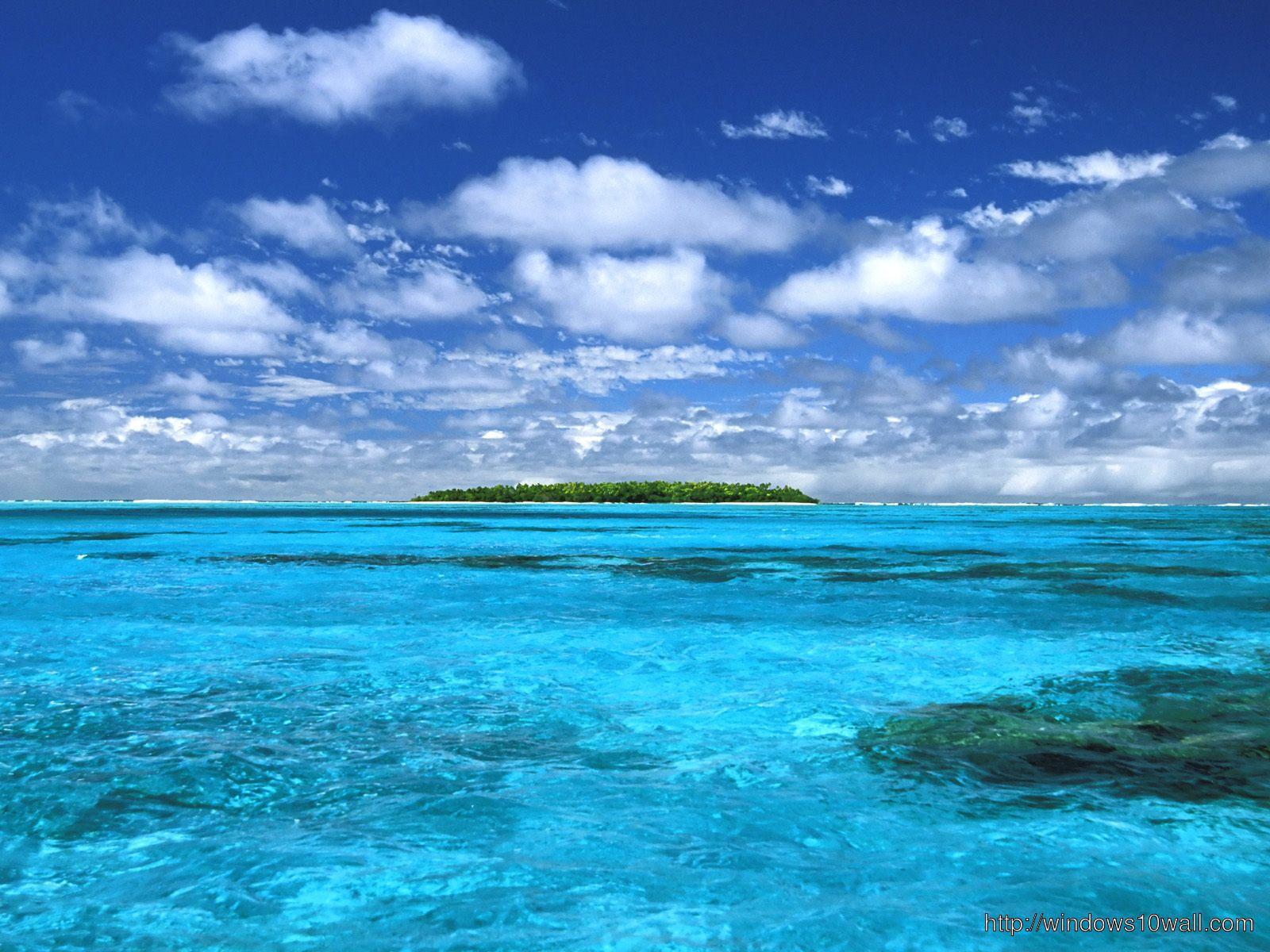 free ocean desktop background wallpaper - windows 10 wallpapers