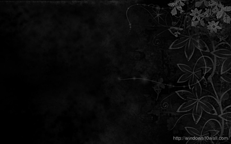 Abstract Black Wallpaper