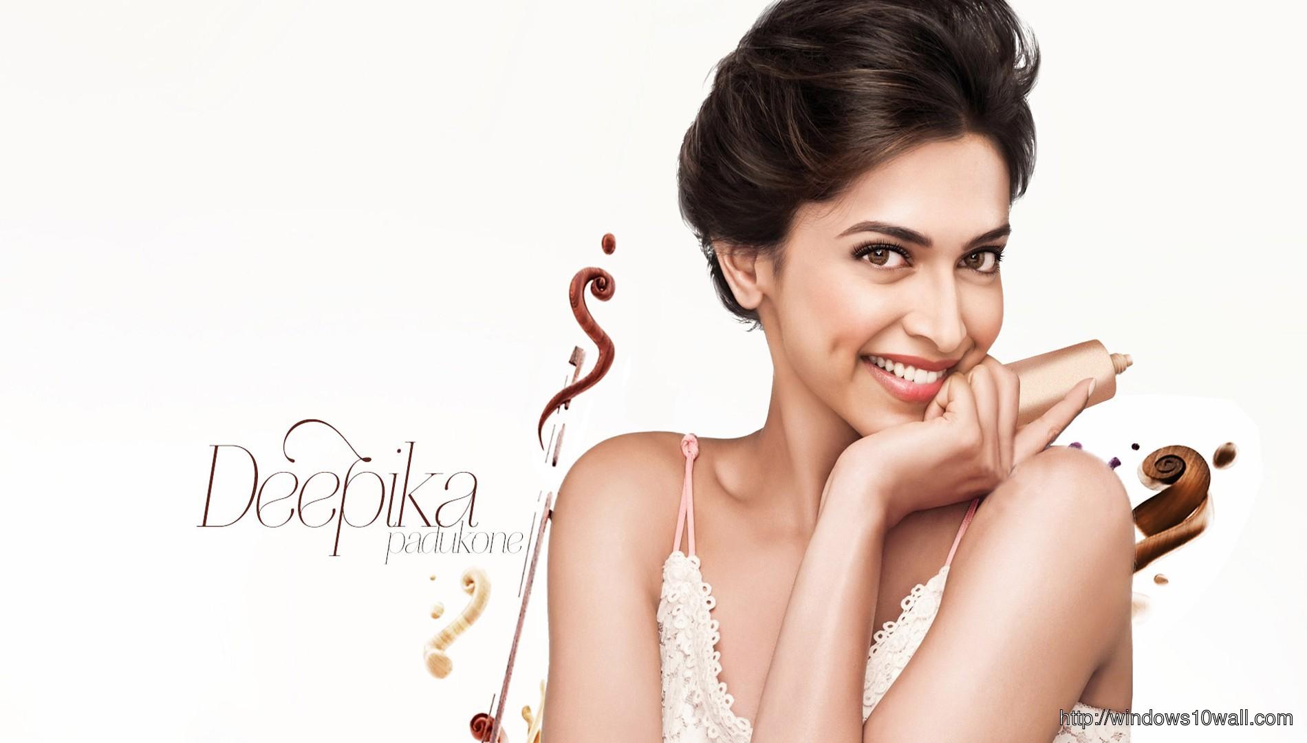 Charming Cute Deepika Padukone Background Wallpaper