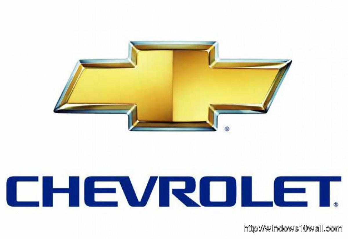 Chevrolet Background Logo