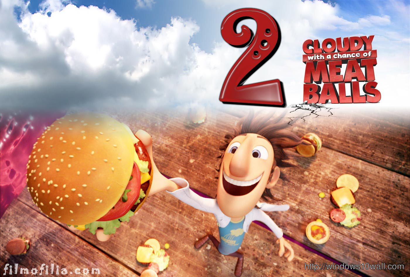 CLOUDY WITH A CHANCE OF MEATBALLS 2 WALLPAPER