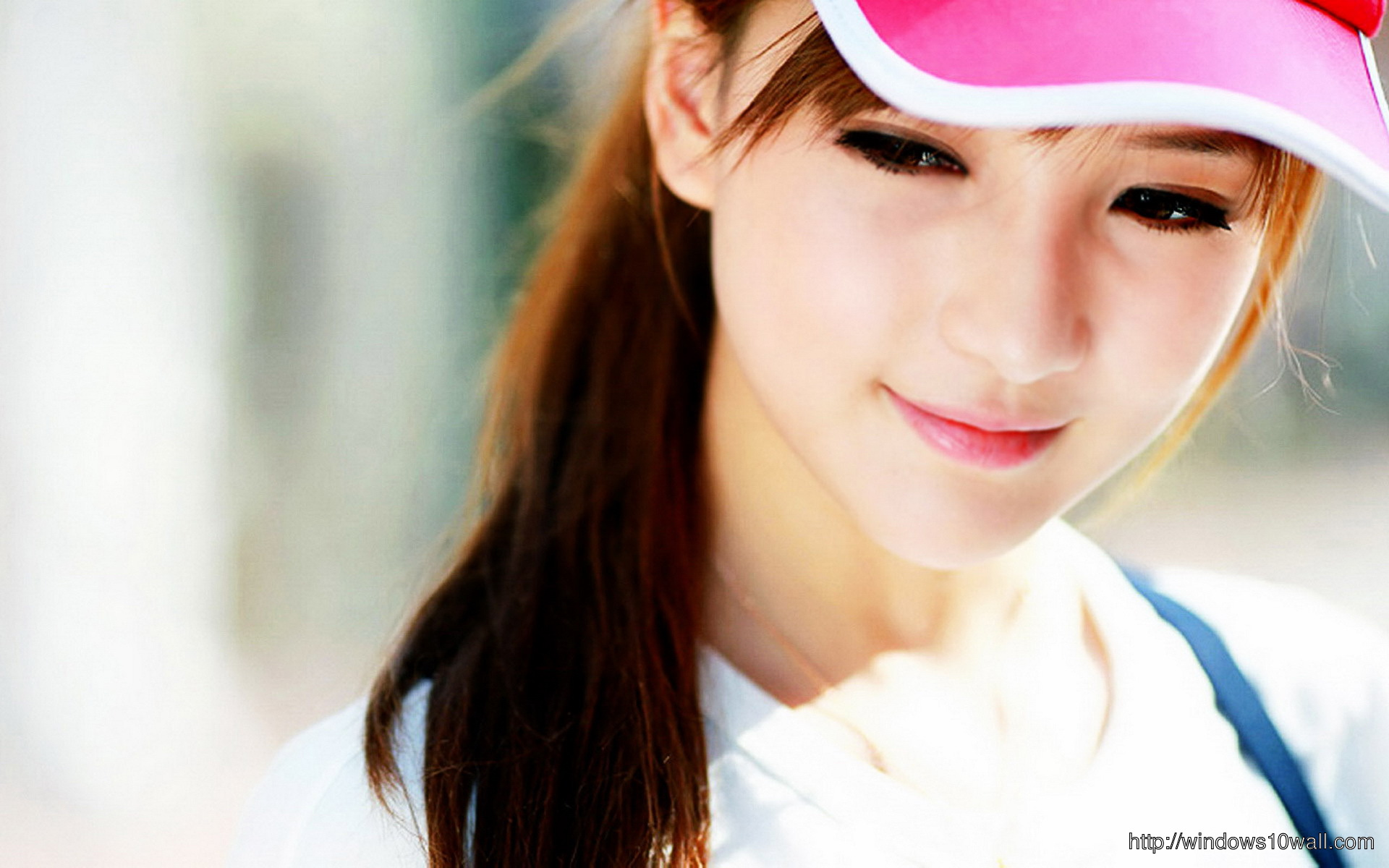 Gorgeous Asian Girl Background Wallpaper