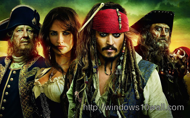Pirates Of The Caribbean Movie Hd Wallpaper Free Windows 10 Wallpapers