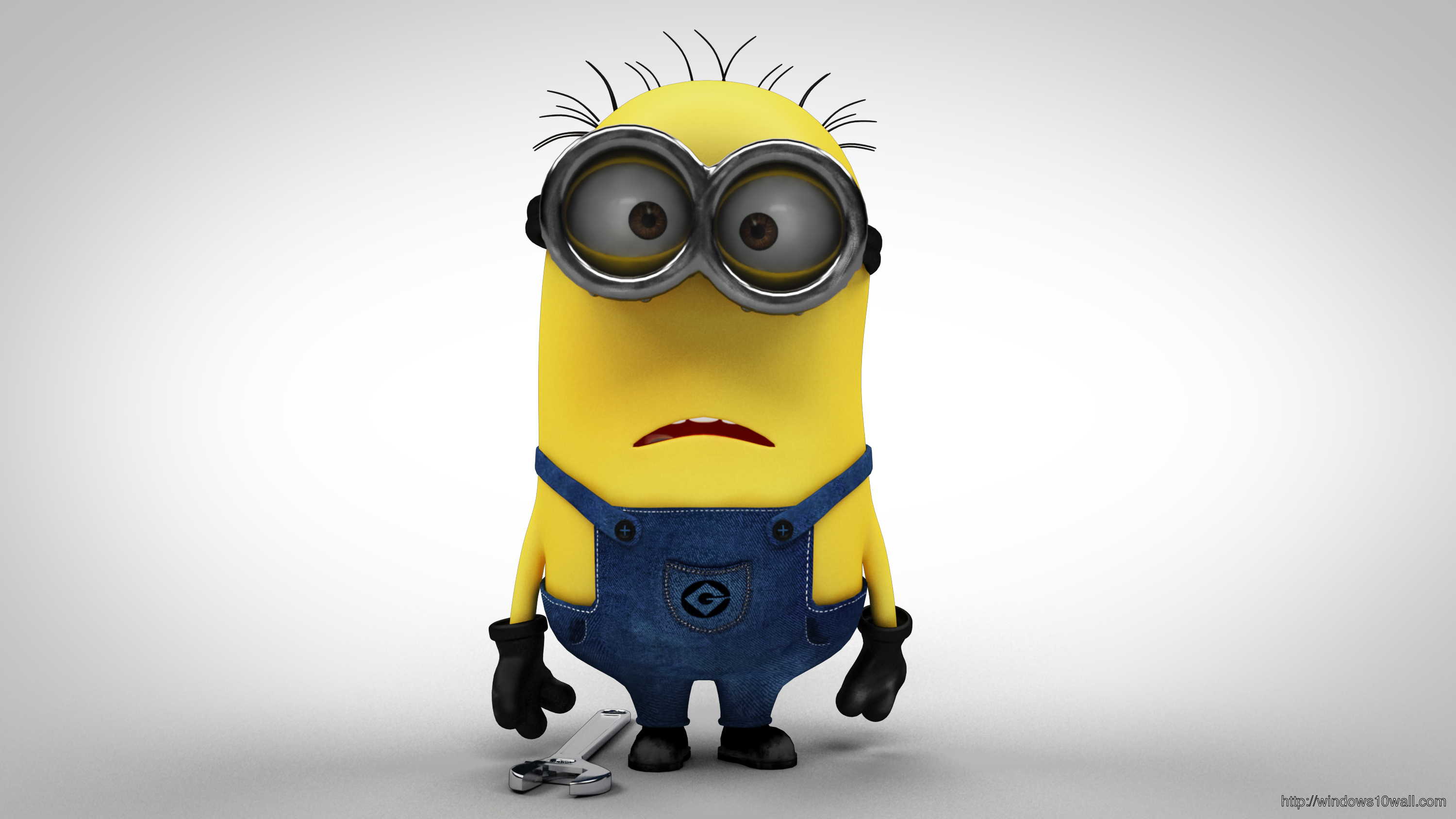 Despicable Me 2 Funny Minion Confused Wallpaper