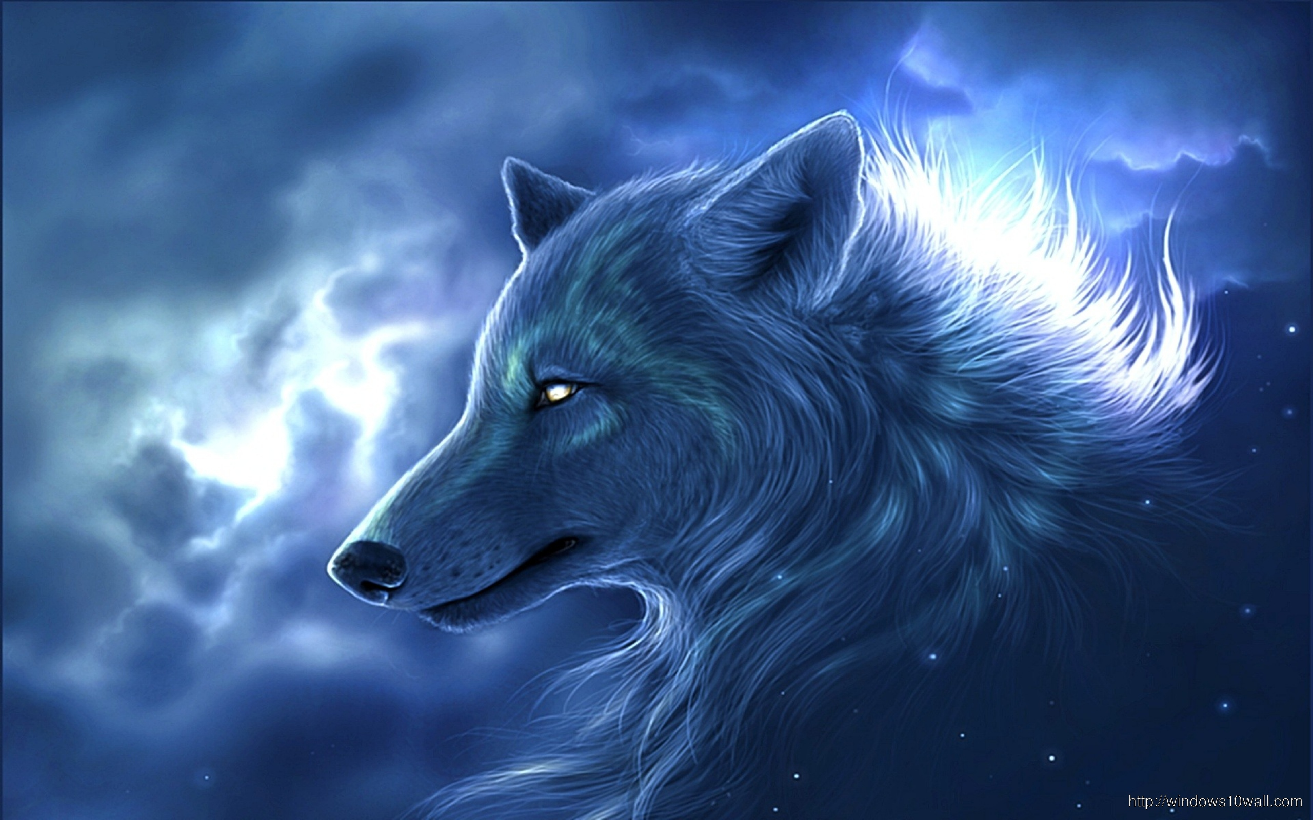 wolf fantasy wallpapers anima hd