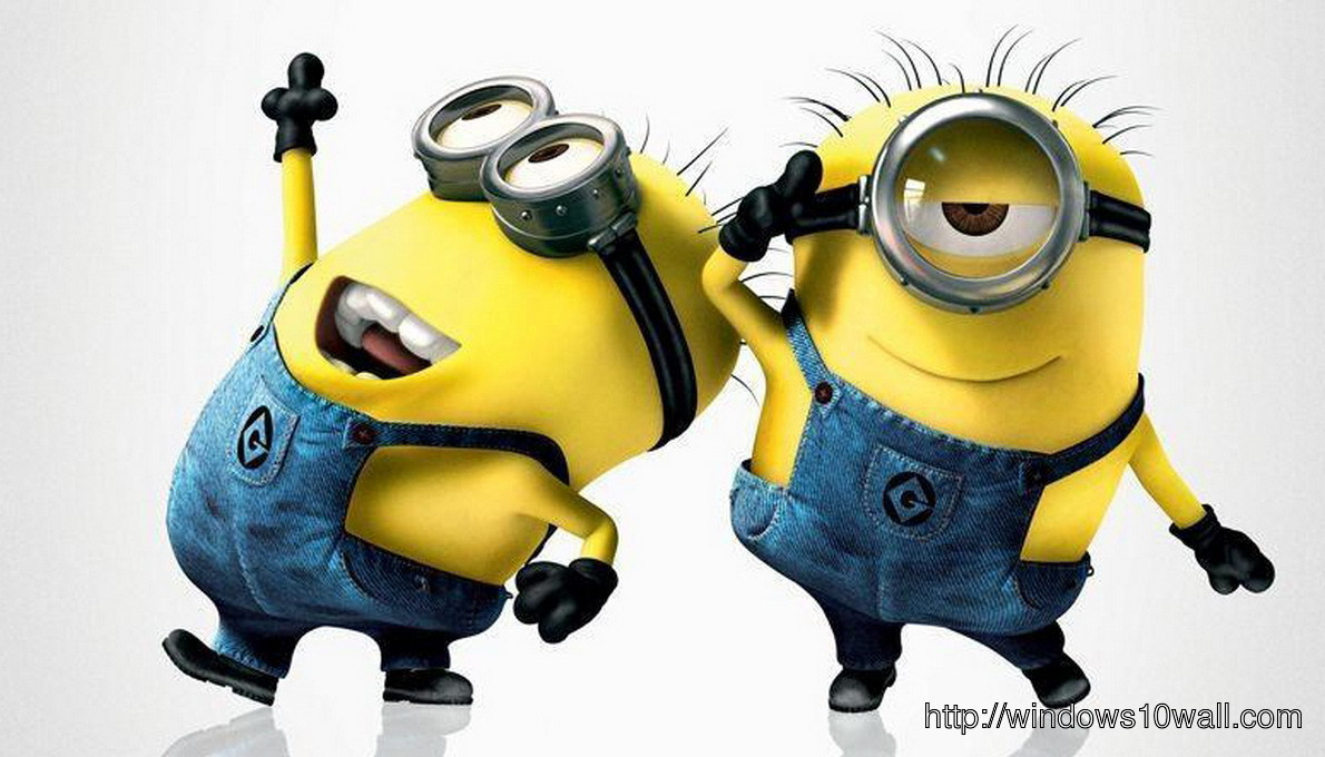 Despicable Me 2 Minions Dancing Background Wallpaper