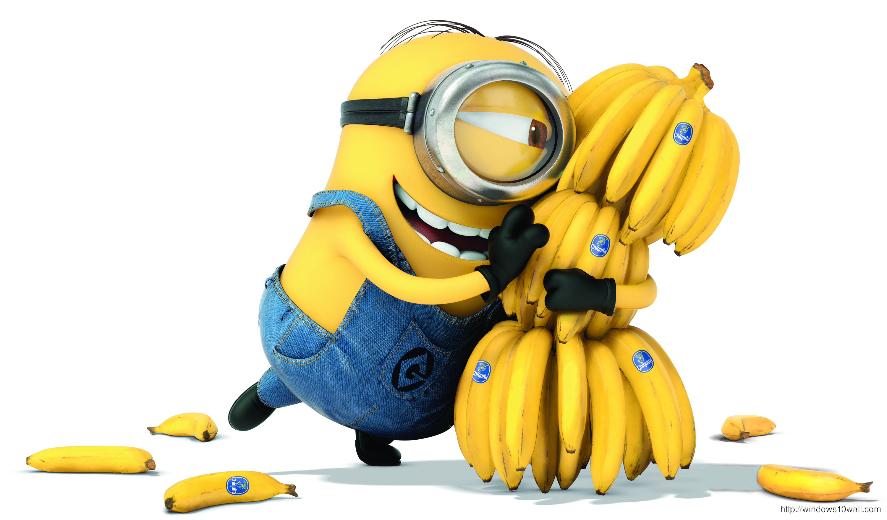 HD Despicable Me 2 Banana Background Wallpaper