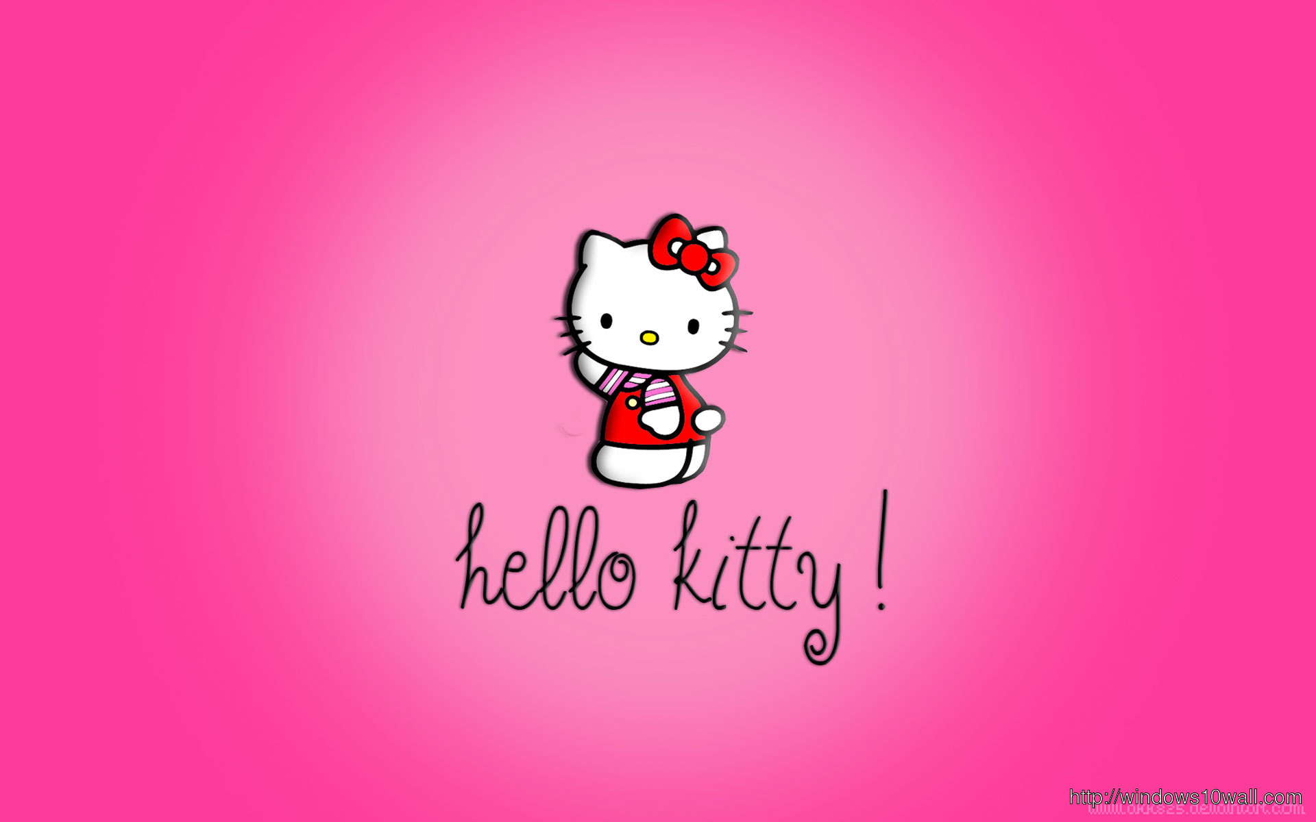 Just another Hello Kitty Full HD Wallpaper