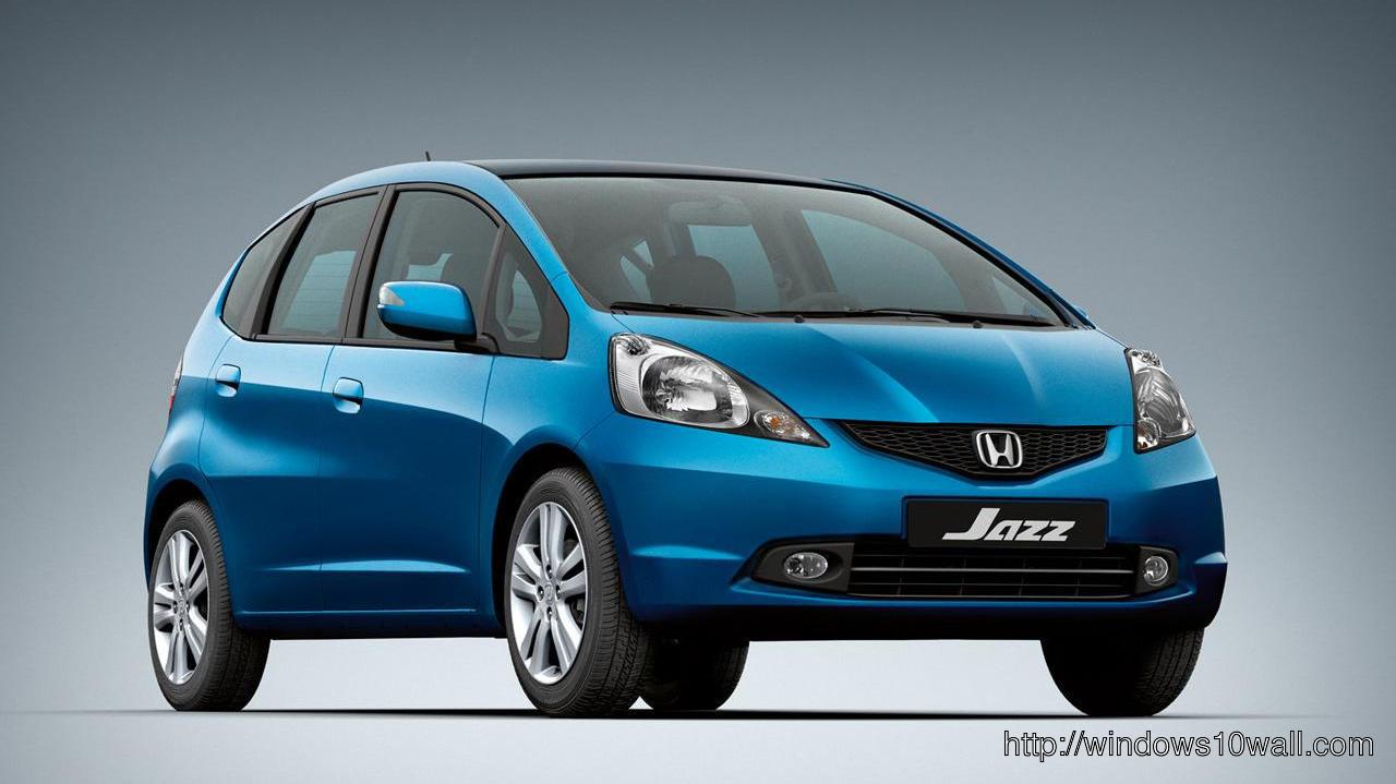 Honda Jazz Background Wallpaper