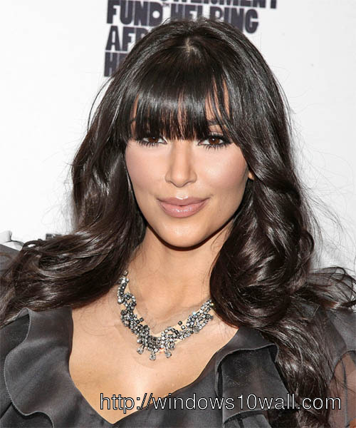 Kim Kardashian Latest Hairstyles 2013