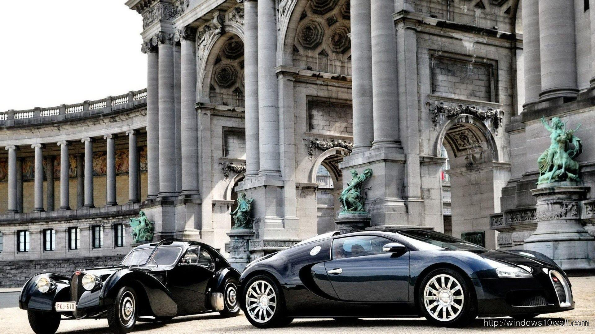 Luxury Bugatti Veyron HD Background Wallpaper
