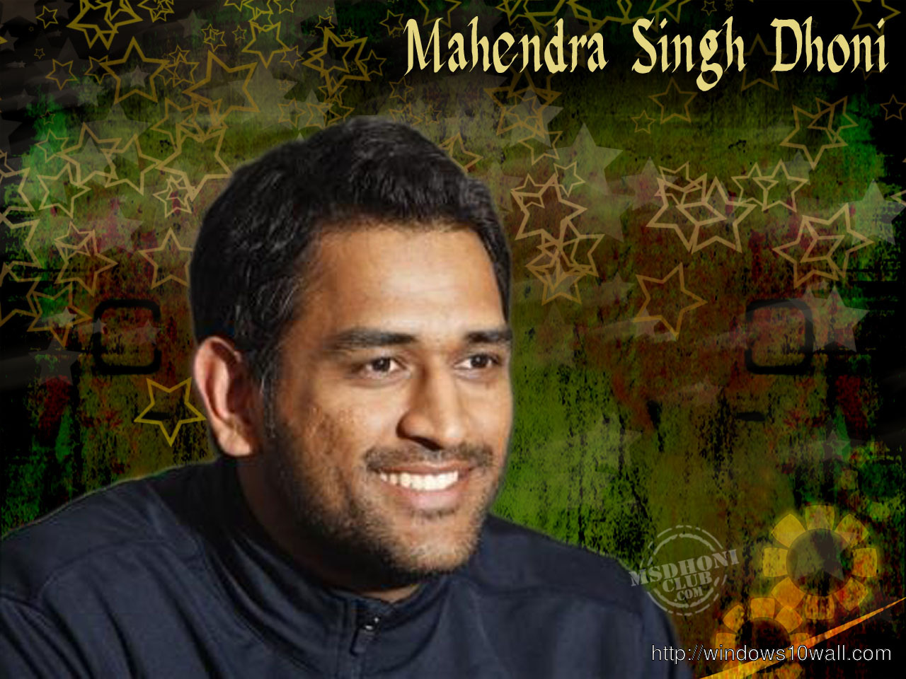 CAPTAIN INDIAN CRICKET TEAM MS DHONI WALLPAPER