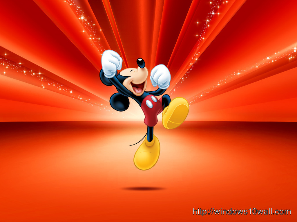 mickey mouse enjoying background wallpaper
