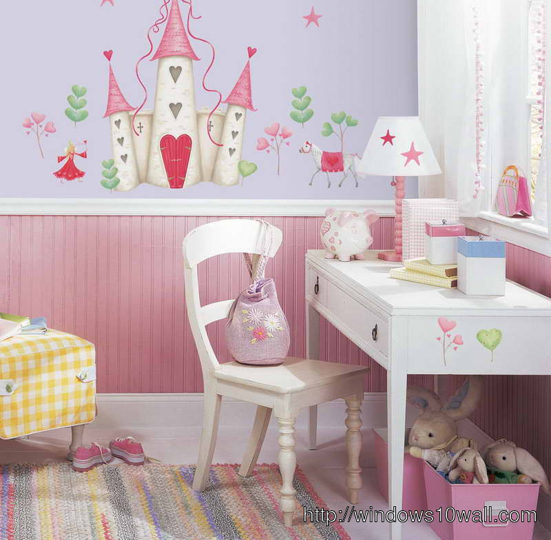The Peel and Stick Background Wallpaper for Kids Room