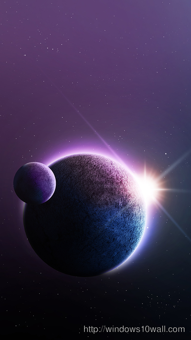 Space iPhone 5 Background Wallpaper