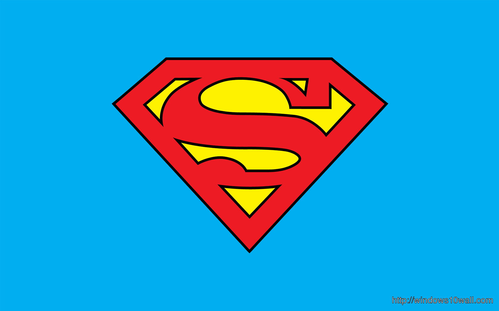 Superhero Superman Background Logo