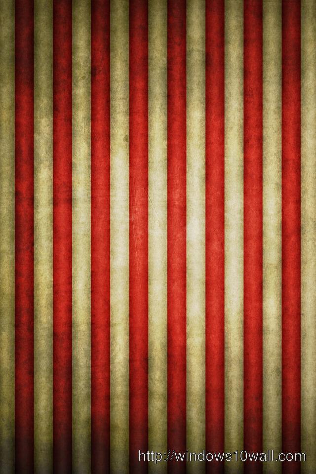 Vintage Flag Stripes iPhone Background Wallpaper