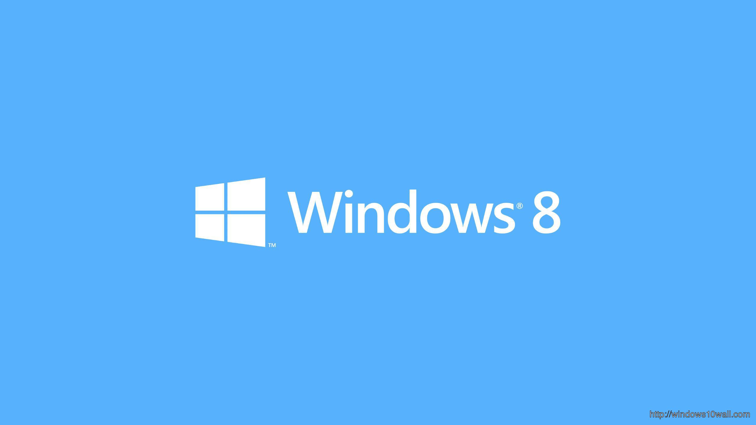 Windows 8 Background Logo