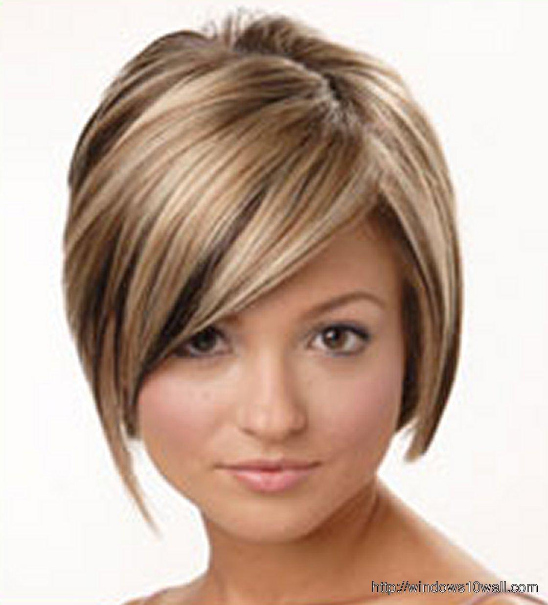 Amazing Women Short Hairstyles Wallpaper