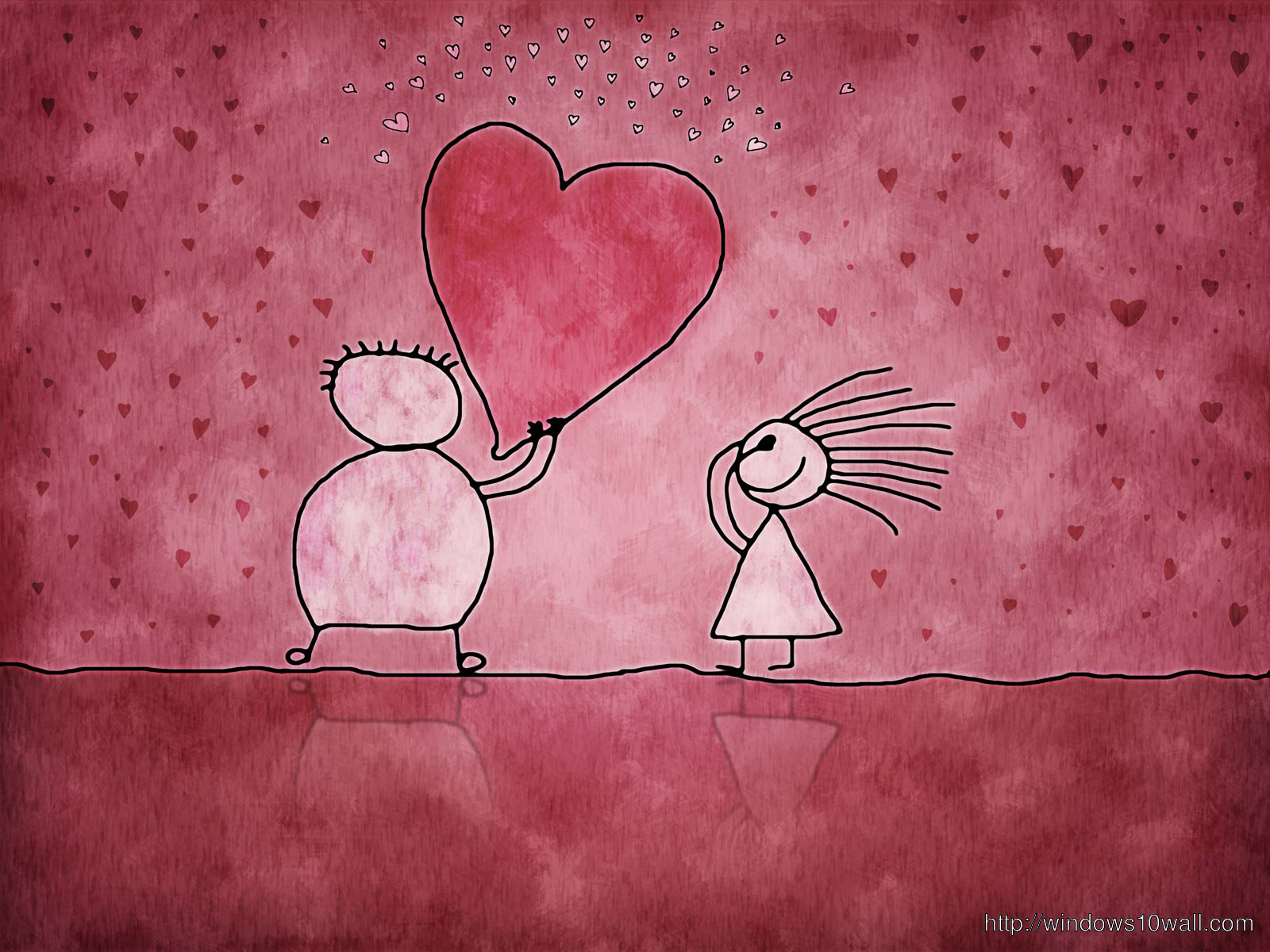 heart cartoons love wallpaper