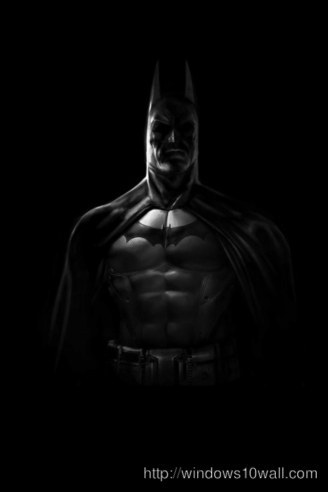 Batman Dark iPhone Background Wallpaper