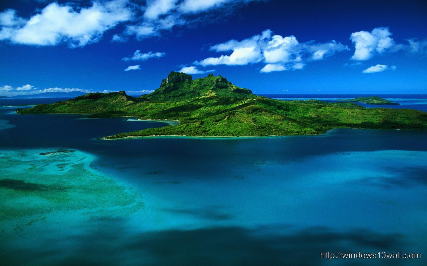 Beautiful Island Tropical Beach Facebook Background Wallpaper