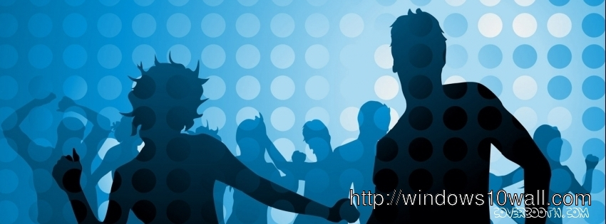boy and girl dance party cool facebook background cover