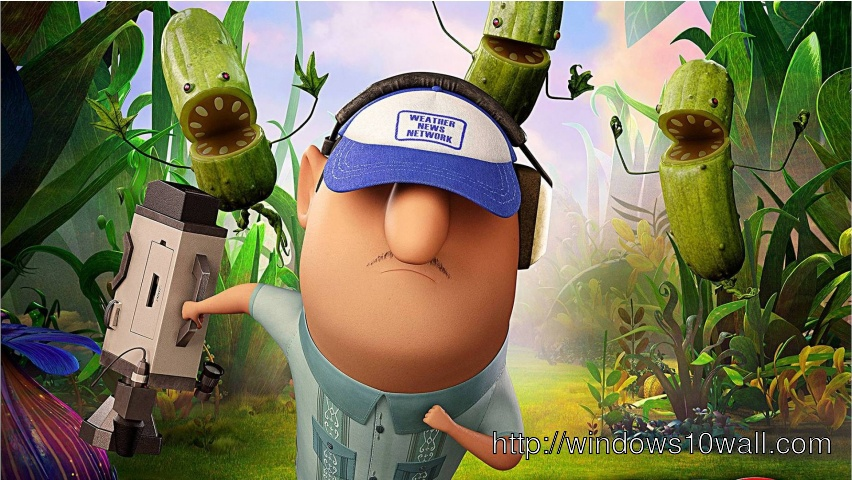 Cloudy with A Chance Of Meatballs 2 Character