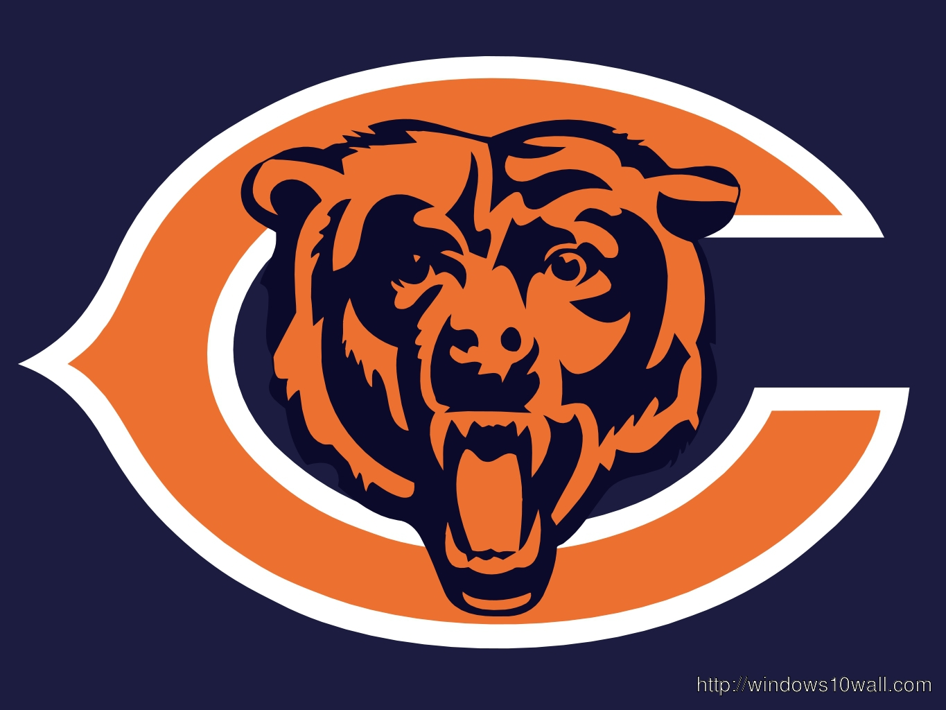 Chicago Bears Background Logo