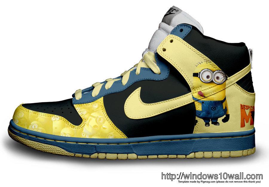 Minions Shoes Wallpaper