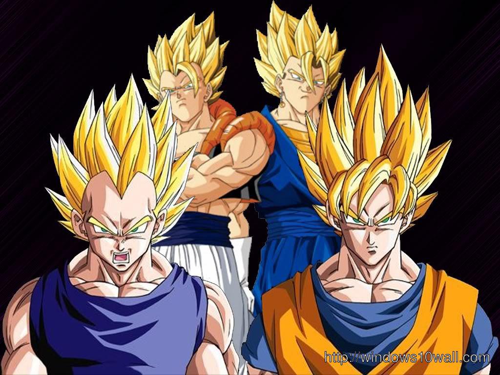 HD Dragon Ball Z Background Wallpaper