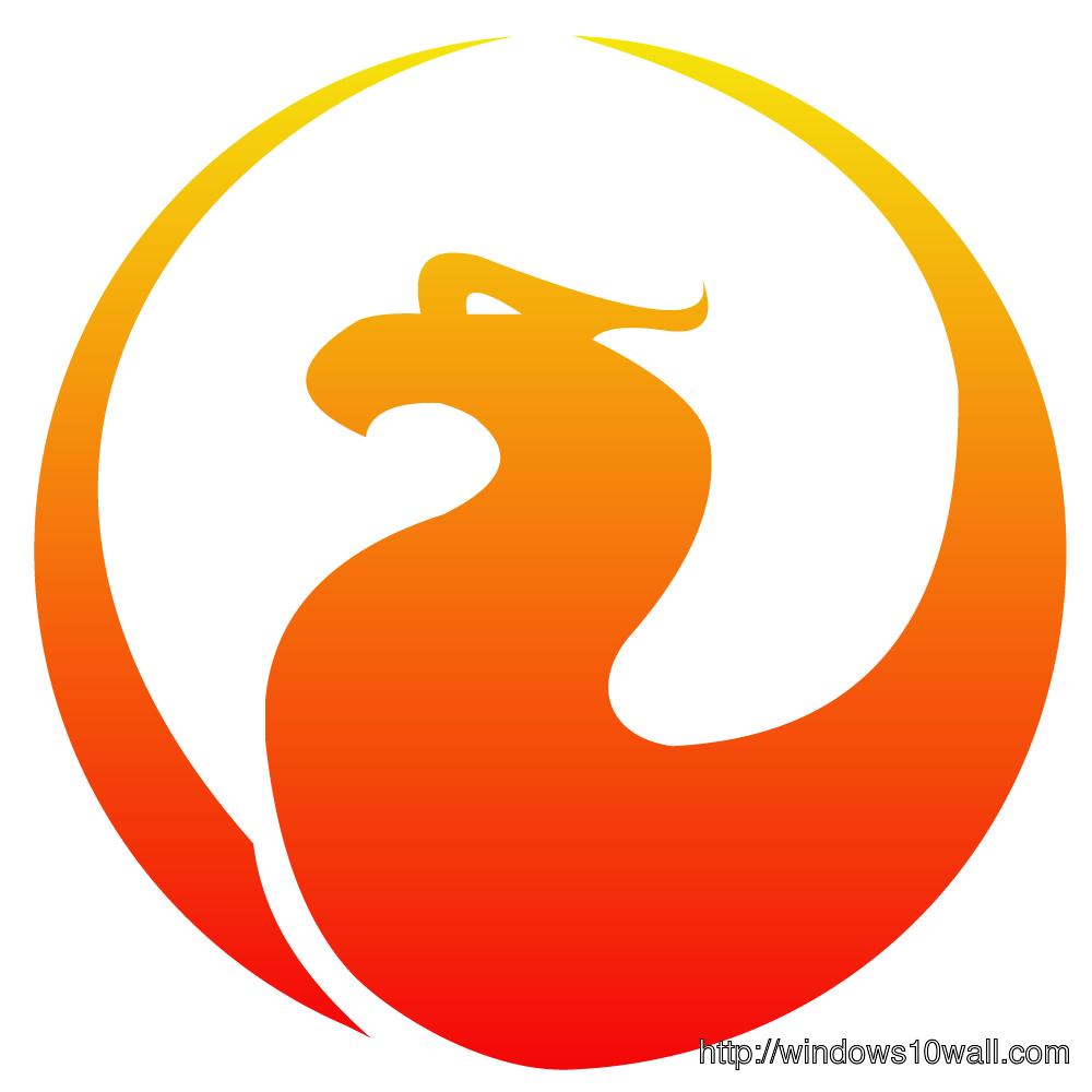 Firebird Logo Background Windows 10 Wallpapers