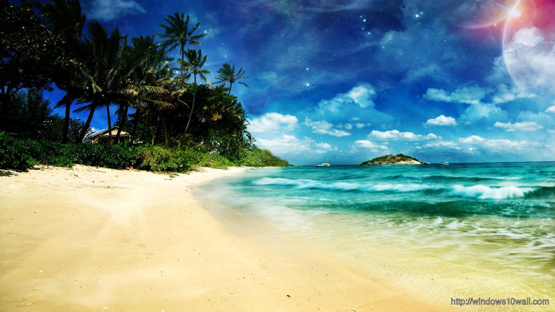 Beach HD FB Background Cover