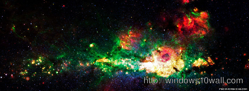 Galaxy space Facebook Background Wallpaper