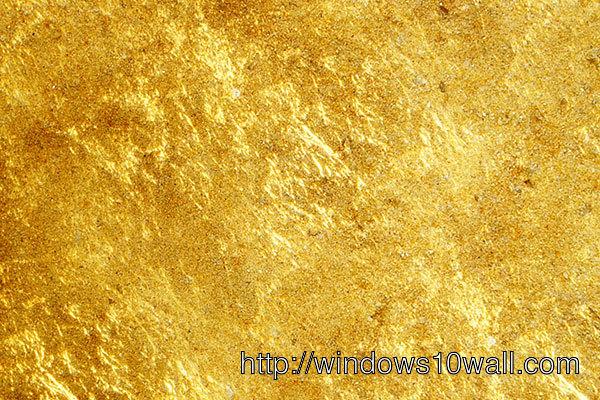 HandPicked Gold Texture Background Wallpaper