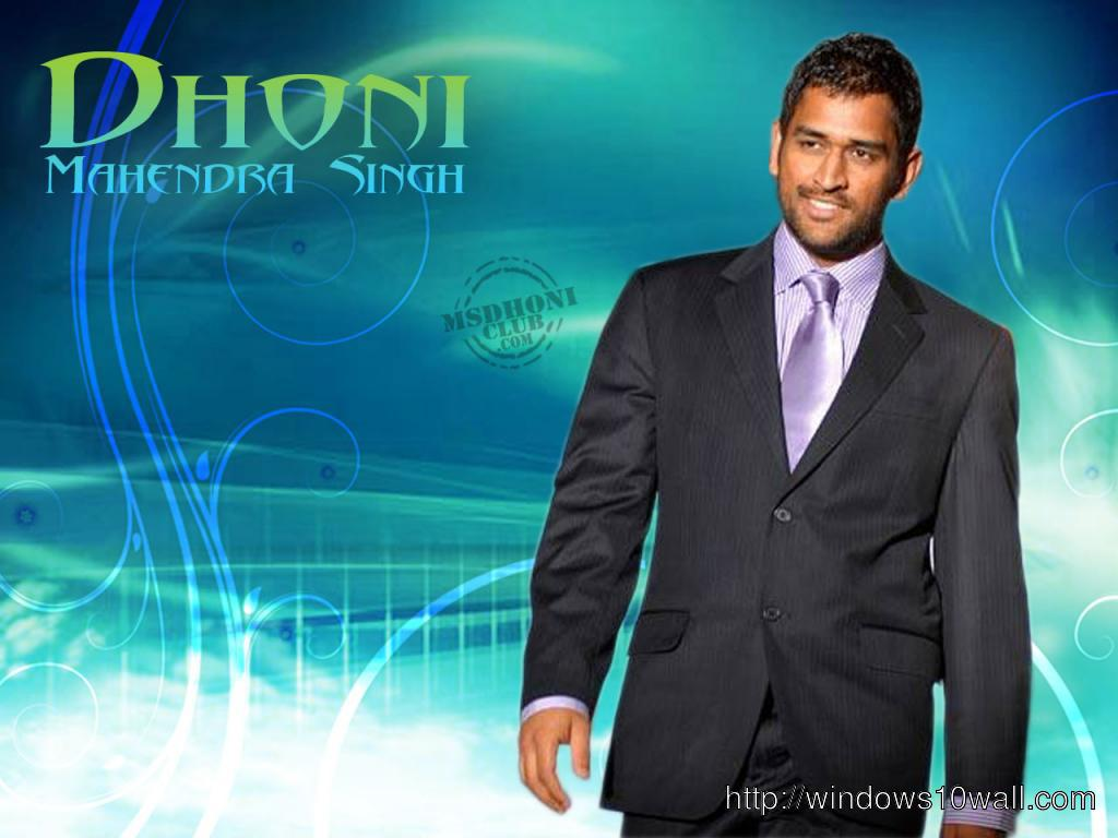 MS Dhoni Cricket Player Wallpaper