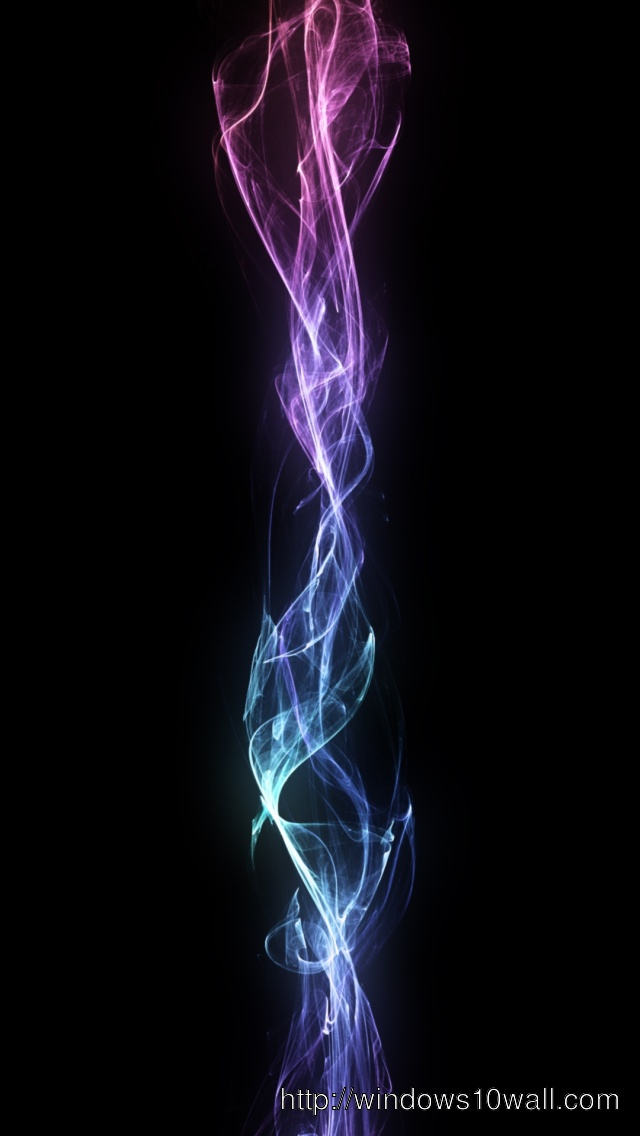 Bluish Abstract Flame iPhone 5 Background Wallpaper